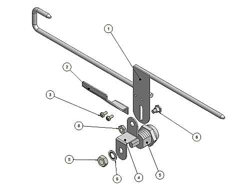 070-0120-01 Lock Slide Assembly