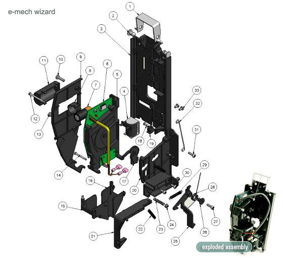 ST-710 E-Mech Wizard Parts