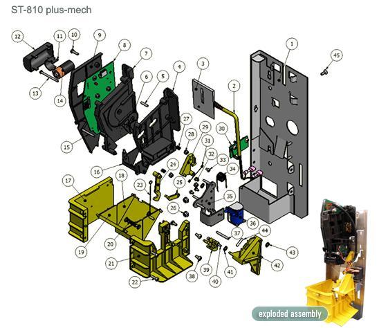 ST-810 Parts